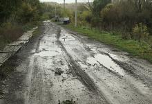 Дорога, в триста метров к купели от дороги и триста – от купели по улице Бахметьева, Никольское-на-Еманче Хохольского района