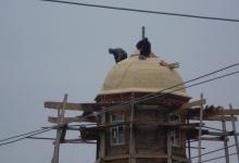 Купол Храма Святителя Николая в селе Никольское-на-Еманче.